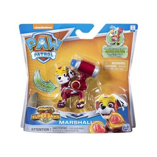 Figurina Paw Patrol Mighty Pups Super Paws - Marshall 20114287 - Figurine pentru copii -