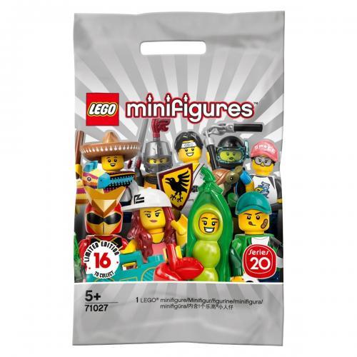 Figurina surpriza LEGO® Minifigures - Seria 20 (71027) - Lego copii - Minifigures
