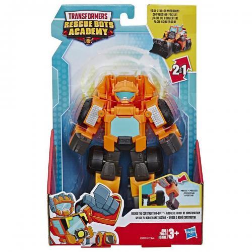 Figurina Transformers Rescue Bots Academy - Wedge The Construction - E3297 - Figurine pentru copii -