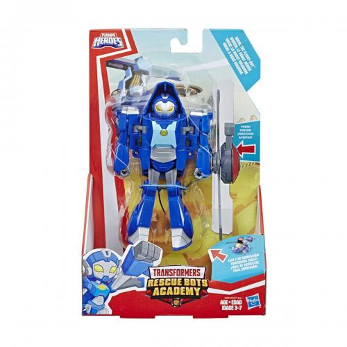 Figurina Transformers Rescue Bots Academy - Whirl The Flight Bot - E3291 - Figurine pentru copii -