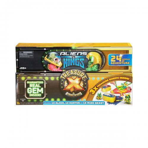 Figurina Treasure X - Kings Vs Aliens S3 - Figurine pentru copii -