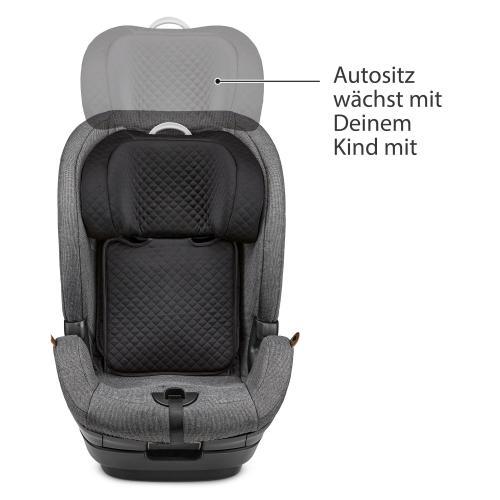 Fotoliu auto Aspen i-size asphalt 76-150 cm Abc Design - Scaune cu isofix -