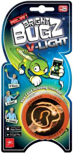 Gandaci luminosi de jucarie Bight Bugs V-Light Orange - Articole noi noriel -