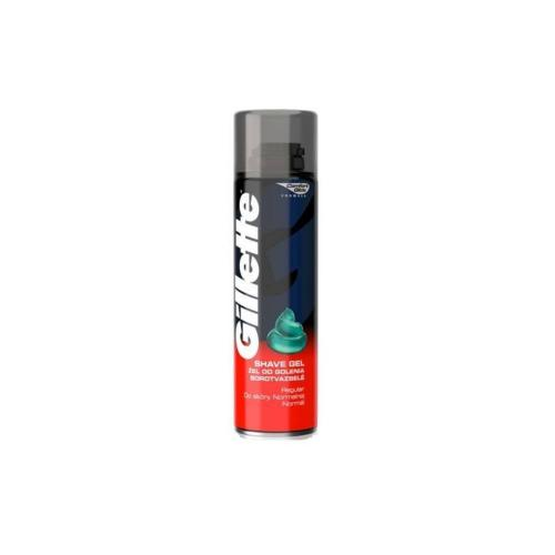 Gel de ras Gillette Regular - 200 ml - Ingrijire corporala - Produse pentru ten
