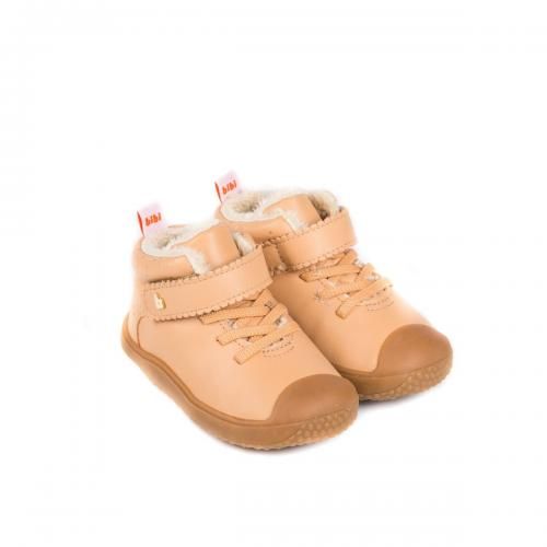 Ghete cu blanita Bibi Shoes Prewalker - Bej - Imbracaminte copii - Incaltaminte copilasi