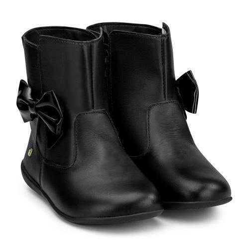 Ghete cu funda Bibi Shoes Rainbow Black - Imbracaminte copii - Incaltaminte copilasi