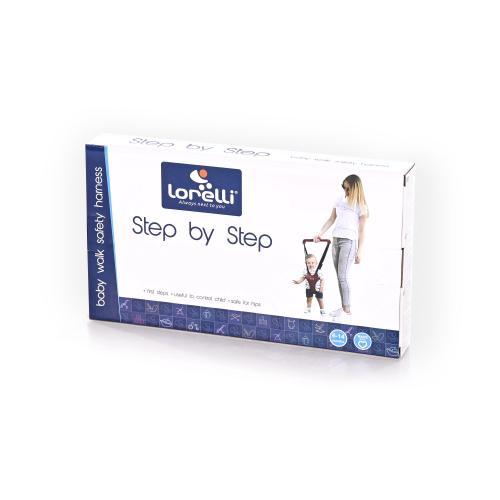 Ham de siguranta Step by Step Dark Blue Grey - Marsupii bebe -