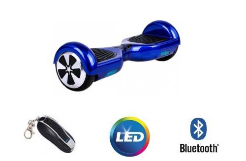 Hoveboard electric Lunar SDB 65 Blue Bluetooth si Telecomanda - La plimbare - Hoveboard