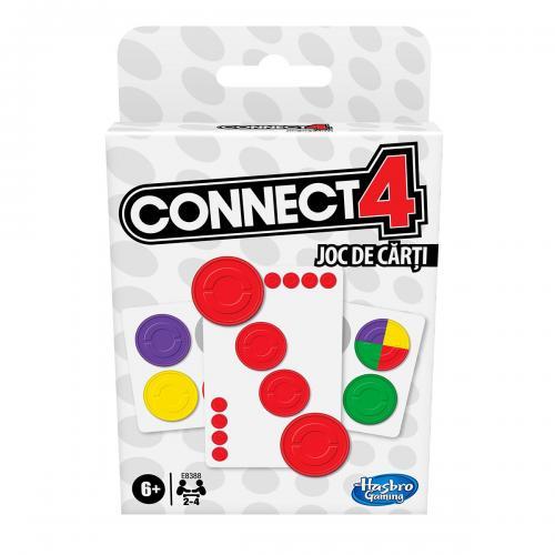 Joc de carti Hasbro Connect4 - Jocuri de societate -