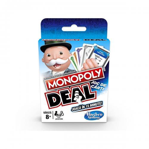 Joc de carti Monopoly Deal - Jocuri de societate -