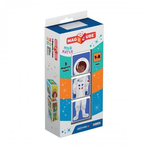 Joc de constructie magnetic Magic Cube - Meserii - Jucarii de constructie -