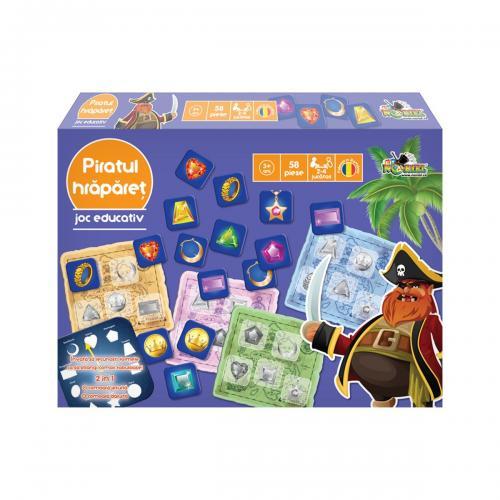 Joc educativ Noriel - Piratul Hraparet - Jucarii copii -