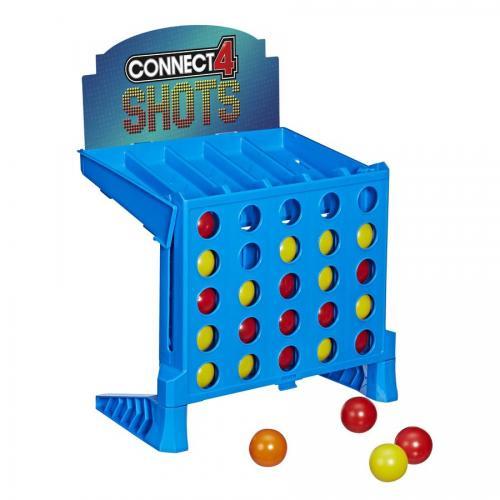 Joc Hasbro Games - Connect 4 Shots - Jocuri de societate -