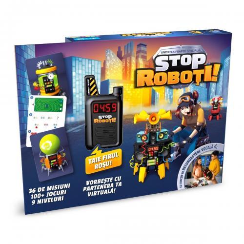 Joc interactiv Noriel Games - Stop Roboti! - Jocuri interactive -