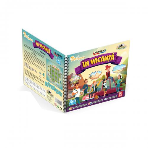 Joc magnetic interactiv Noriel Games - In vacanta - Jocuri interactive -