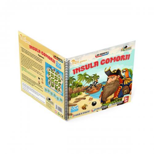 Joc magnetic interactiv Noriel Games - Insula comorii - Jocuri interactive -