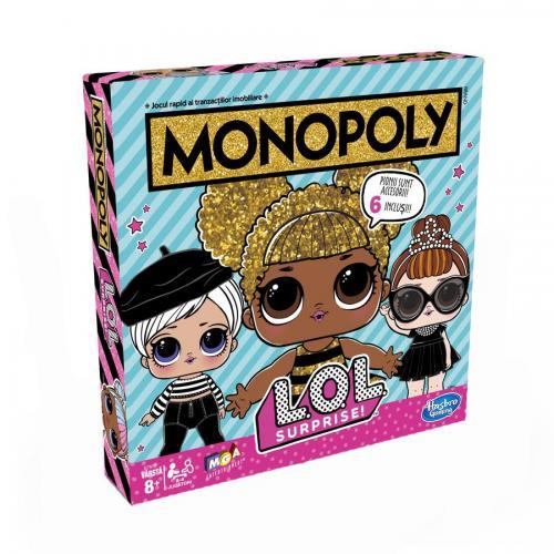 Joc Monopoly LOL Surprise Ro - Jocuri de societate -