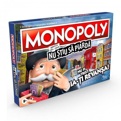 Joc Monopoly pentru cei care nu stiu sa piarda - Jocuri de societate -