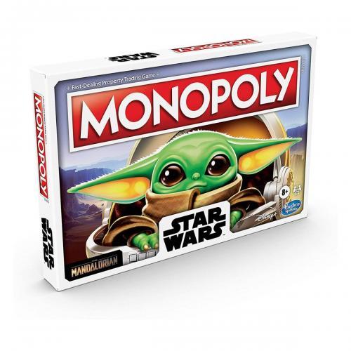 Joc Monopoly Star Wars The Mandalorian The Child (Baby Yoda) - Jocuri de societate -