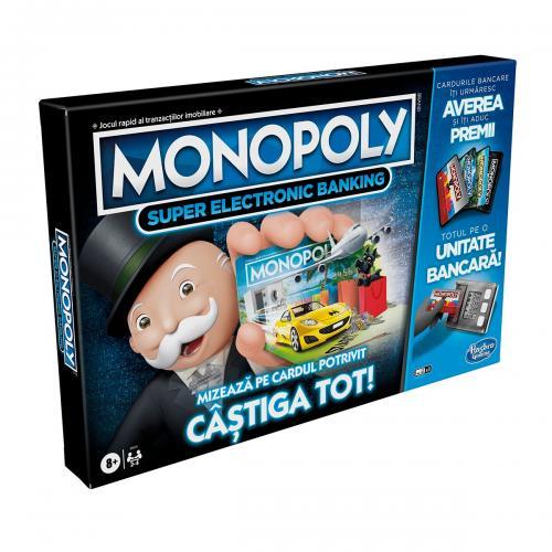 Joc Monopoly Super Electronic Banking - Jocuri de societate -