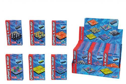 Jocuri magnetice mici Games and More Simba - Jucarii interactive -