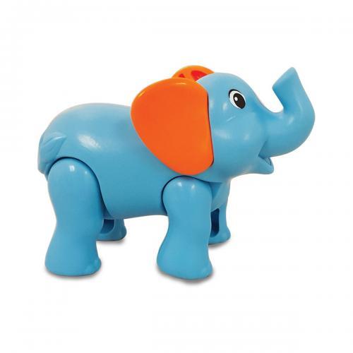 Jucarie bebelusi articulata Safari Kingdom Kiddieland - Elefant - Jucarii pentru bebelusi -