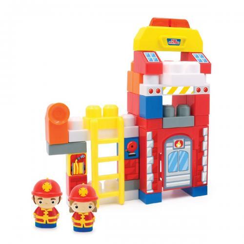 Jucarie bebelusi Micul Constructor - Statia de pompieri - Jucarii pentru bebelusi -