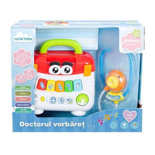 Jucarie bebelusi Noriel Bebe - Doctorul vorbaret - Jucarii pentru bebelusi -