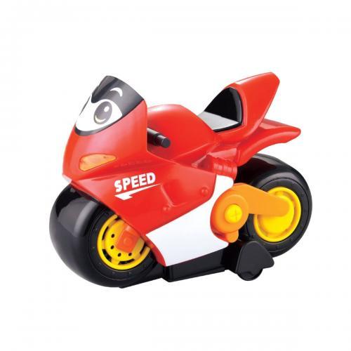 Jucarie bebelusi Noriel Bebe - Motocicleta de curse - Jucarii pentru bebelusi -