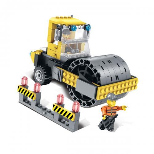 Jucarie de constructie Micul Constructor - Compactor - Jucarii de constructie -