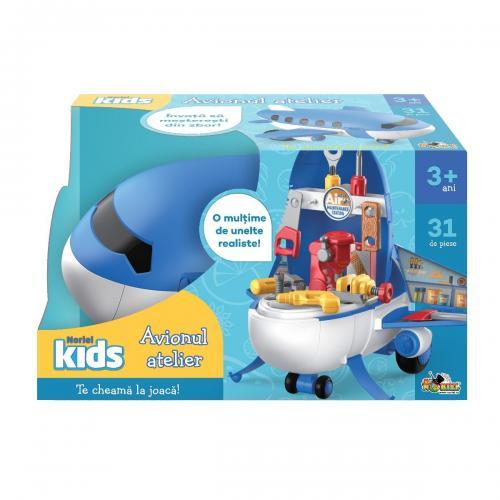 Jucarie de imitatie Noriel Kids - Avionul atelier - Jucarii de imitatie -