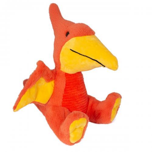 Jucarie de plus Noriel - Dinozaur - Portocaliu - 31 cm - Jucarii de plus -