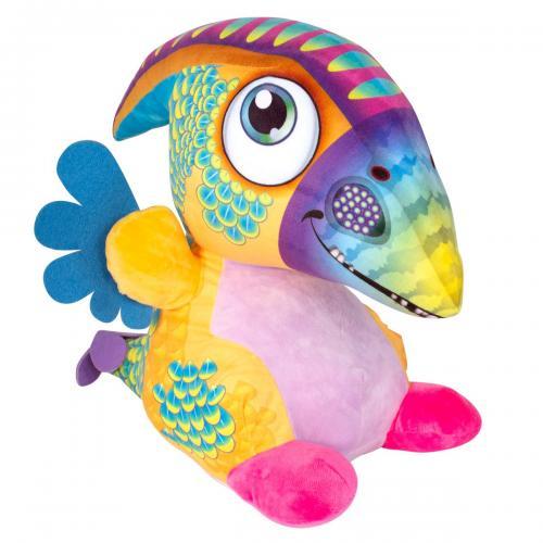 Jucarie de plus Noriel - Dragon cu cioc - Multicolor - 40 cm - Jucarii de plus -