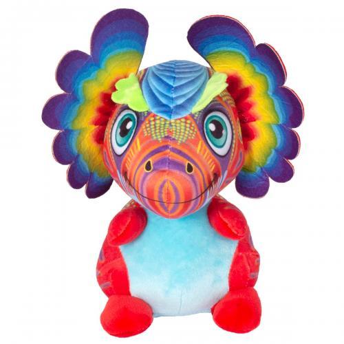 Jucarie de plus Noriel - Dragon cu urechi - Multicolor - 40 cm - Jucarii de plus -