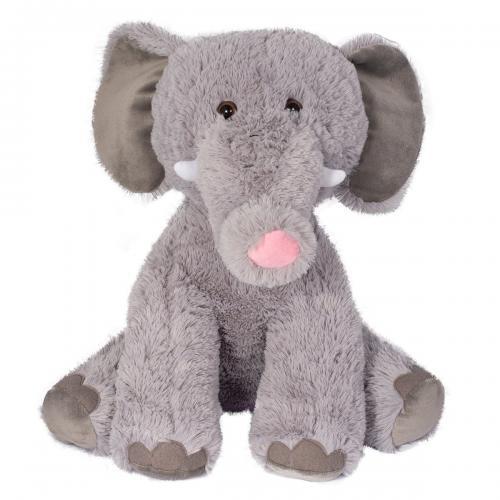 Jucarie de plus Noriel - Elefant - Gri - 40 cm - Jucarii de plus -