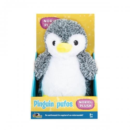 Jucarie de plus Noriel Plush - Pinguin pufos - 25 cm - Jucarii de plus -