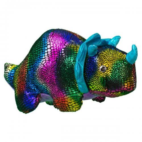 Jucarie de plus Noriel - Rinocer - Multicolor - 27 cm - Jucarii de plus -