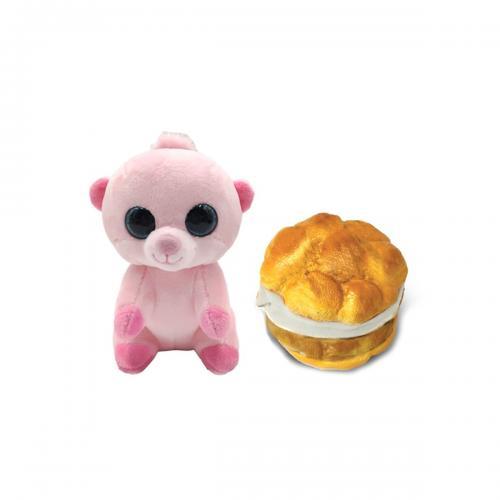 Jucarie de plus Wild Cakes - Cream Puff Patty - S1 - Jucarii de plus -