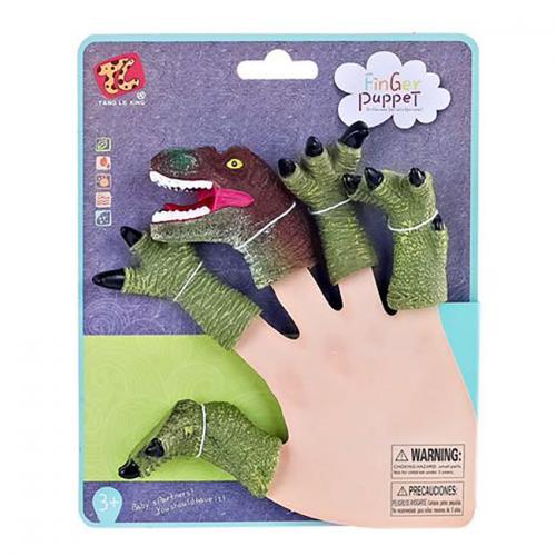 Jucarie de rol Finger Puppet - Dinozauri - Jucarii de imitatie -