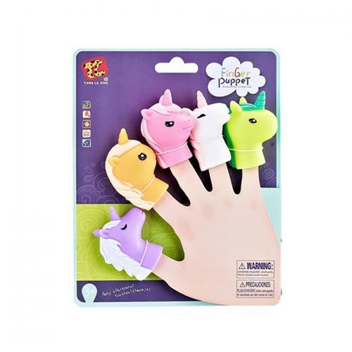 Jucarie de rol Finger Puppet - Unicorni - Jucarii de imitatie -