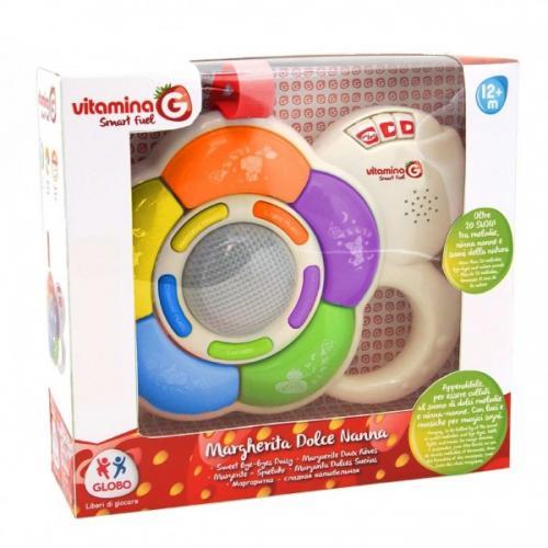 Jucarie muzicala Vitamina G floare pentru bebelusi - cu lumini si sunete - Camera copilului - Carusele muzicale