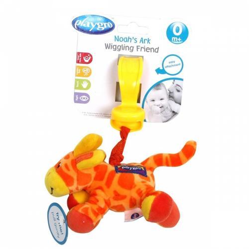 Jucarie pentru carucior Prietenul Girafa - La plimbare - Accesorii carucioare