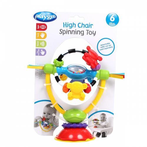 Jucarie rotativa 2 in 1 Maimutele Colorate - Booster copii -
