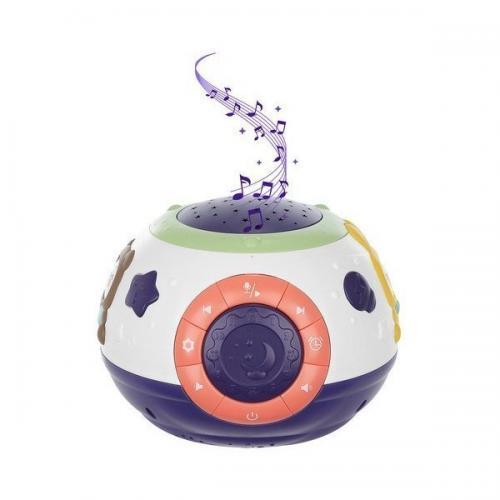 Lampa de veghe cu proiector si muzica Iso Trade MY6653 - Camera copilului - Carusele muzicale