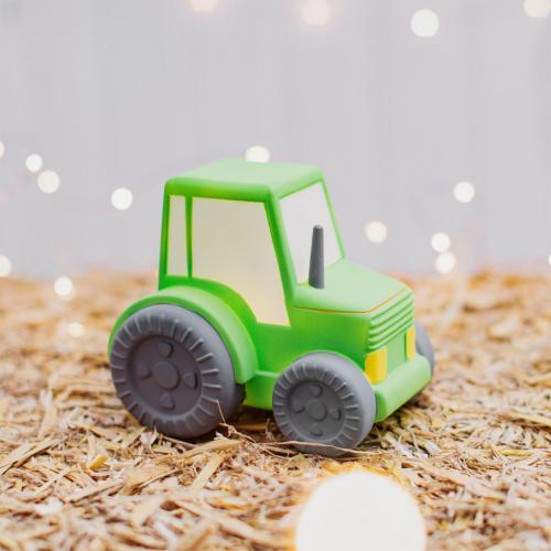 Lampa de veghe Led cu baterii Tractor - Camera copilului - Carusele muzicale
