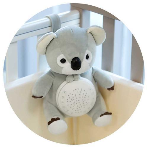 Lampa de veghe plus Chipolino Koala - Camera copilului - Carusele muzicale