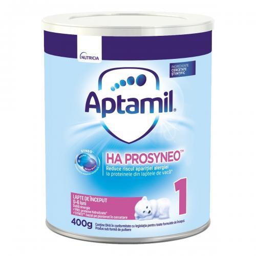 Lapte praf Aptamil Nutricia Ha Prosyneo 1 - 400g - 0-6 luni - Alimentatia bebelusului - Lapte praf bebelusi