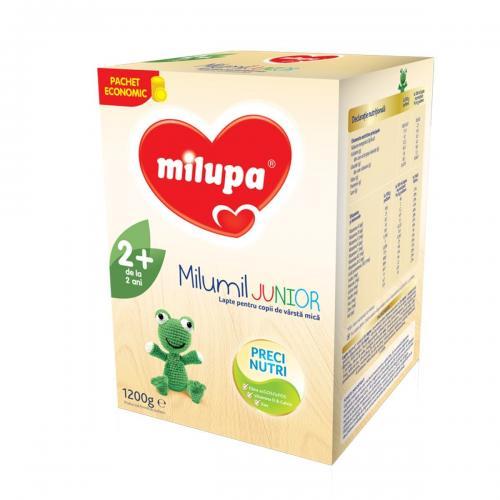 Lapte praf de crestere Milupa Milumil Junior 2+ - 1200g - Alimentatia bebelusului - Lapte praf bebelusi