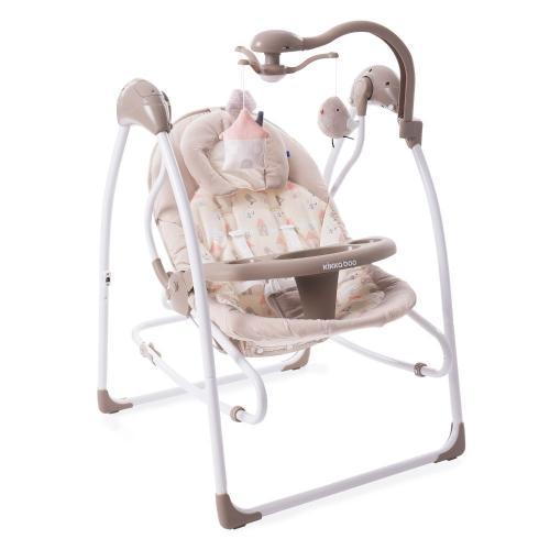Leagan pentru bebelusi 2 in 1 Mia Stella Kikka Boo - Bej - Centre de activitate copii -