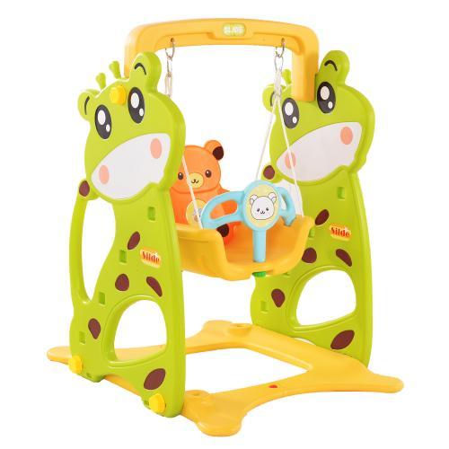 Leagan pentru bebelusi Nichiduta Deer Garden Green - Leagane curte -